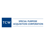 TCW Special Purpose Acquisition Corp. Announces Pricing of an Upsized $450 Million Initial Public Offering