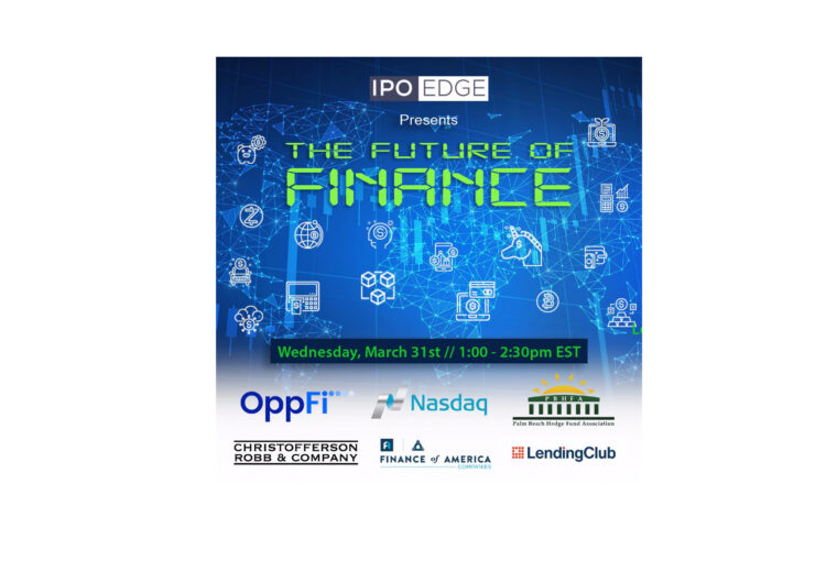 """Replay: Nasdaq and Palm Beach Hedge Fund Association Host """"The Future of Finance"""" with CEOs of OppFi, LendingClub, Finance of America"""
