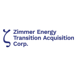 Zimmer Energy Transition Acquisition Corp. Announces Closing of $345 Million Initial Public Offering Including Full Exercise of Underwriters' Over-Allotment Option